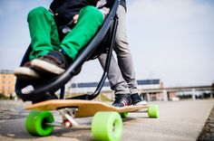 The 'Longboard Stroller' by Studio Peter van Riet for baby stroller company Quinny, is an innovative baby stroller designed for active parents who love to skateboard, a concept that presents a different approach to urban mobility...