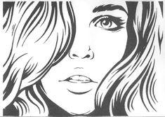 pop art girl -stock: 16 тыс изображений найдено в Яндекс.Картинках