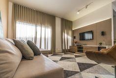 Projeto Interiores - Casa Pq. Portugal Sala de Estar Decoração Design Sala Tv Home Theater