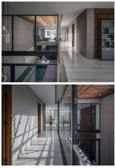 Interior And Exterior, Interior Design, Main Entrance, Experiential, Architectural Elements, Skylight, Modern House Design, Home Projects, Backyard