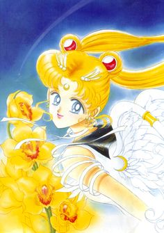 エターナルセーラームーン / 月野うさぎ Eternal Sailor Moon / Usagi Tsukino : 美少女戦士セーラームーン原画集 Sailor Moon Original Picture Collection vol.5 - by Naoko Takeuchi