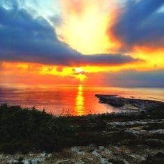 A spectacular way to finish the day! #Malta #Holiday #Travel #Mediterranean #Sea #Sunset #Business https://www.pinterest.com/tomasintl/ https://www.facebook.com/TomasIntl