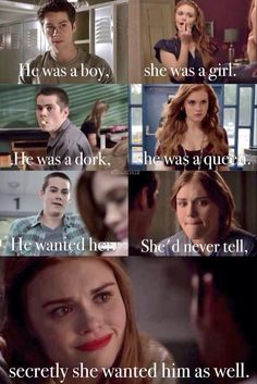 They are just made for each other #Stydia