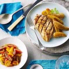 Un délice de recette rapide avec une sauce qui prend moins de temps à faire qu'il n'en faut pour réchauffer votre BBQ.  | Le Poulet du Québec