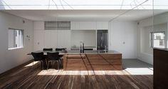 Kitchen at Frame (roof slit)