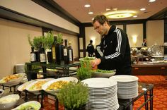 Petr Cech. After a stroll, its time for @Chelsea Rose FC to have a light lunch back at the hotel. #CFCAmsterdam
