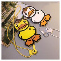 Korea soft cartoon duck protect case for iphone 6 / 6s / 6s plus