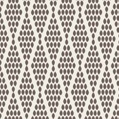 farmhouse_beaded_triangle_gray wallpaper by holli_zollinger for sale on Spoonflower - custom wallpaper