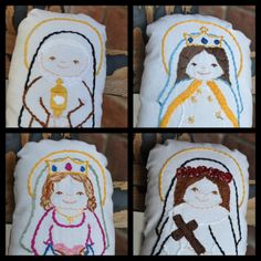 Saints N Stitches Pillow Dolls - Waltzing Matilda