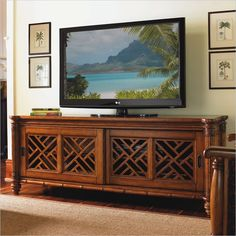 Love this TV stand! $1700 >> Wish I had the extra moola!