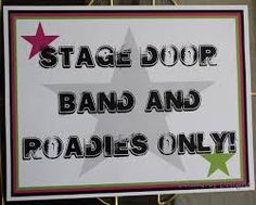 What a great sign idea for the front door to a rockstar party - Google Search