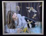 I Am, Pleasant Grove High School, Nicole Brisco's Class  Art 2 Colored Pencil, Mixed Media