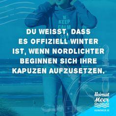 Winter in Norddeutschland ist, wenn... PS: Passende Strandklamotte & Mee(h)r >>
