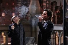 I don't like smokers, but cigars on the other hand......snazzy!!! =P