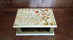 Caixa Chá - 6 lugares   Artesanal Gestual   Elo7