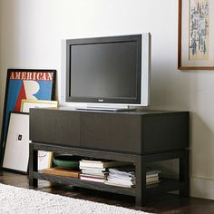 Parsons Media Small Console #WestElm