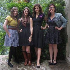 Meet Trashy Diva's own tech team in todays blog: Sandy, Allegra, Patricia, & Cali!! #trashydiva