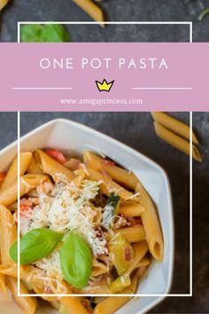 one pot pasta, www.amigaprincess.com