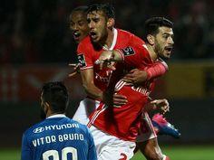 Feirense-Benfica, 0-1 (resultado final)