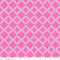 "1/2 Yard - Riley Blake Designs ""Extravaganza"" by Lila Tueller Designs, pattern L4644 Pink-Geometric Pattern by RainyDayJayne on Etsy"