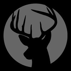 Deer stencil for Halloween pumpkins- I know what Eric will carve into one of our pumpkins now…