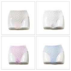 03dc6d8c89 Pack of 2 Flower Dotted Panty - Cotton Jersey Panty - Mix Colours - Panty -