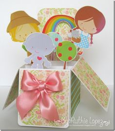 My Graphico - Over the Rainbow clip art - Wizard of Oz - Card in a box - Ruthie Lopez DT - Latinas Arts and Crafts 2b