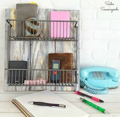 diy farmhouse style storage bins