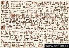 Antiguo documento egipcio registra visita de los extraterrestres a Egipto en el pasado