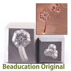 Dandelion metal stamp :)