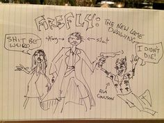 Joss Whedon Also Revives 'Firefly' With A New Drawing | Pink is the New Blog