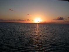 New Adventures - Traveling south - 2000+ miles - Sun set, West side of Eleuthera Island