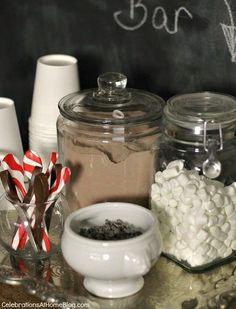 Set Up a Hot Cocoa Bar