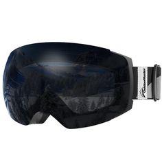 f4b84beac8d Goggles Ski Pro Frameless Interchangeable Lens 100 Uv400 Protection Snow  for for sale online