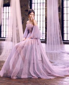 Ethereal inspiration courtesy of Yanina Couture. | WedLuxe Magazine | #wedding #luxury #weddinginspiration #luxurywedding #bridal #fashion #weddingdress #weddinggown
