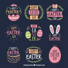 Set of Easter Day Badges Free Vector - Set of Easter Day Badges Free Vector - . - Set of Easter Day Badges Free Vector – Set of Easter Day Badges Free Vector – - Easter Bingo, Easter Puzzles, Easter Activities For Kids, Planner Stickers, Easter Drawings, Happy Easter Day, Craft Quotes, Easter Art, Easter Crafts