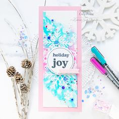 Simon Says Stamp – Center Cut Snowflakes – Caly Person