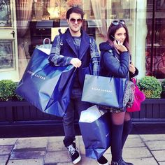 Shopping together ♥❇♥