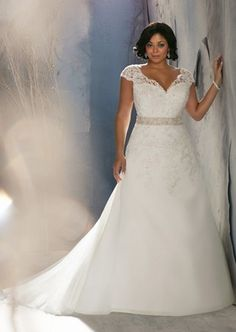 e9951e654db White Ivory Lace Wedding Bridal Dress Party Prom Gown Plus Size 18 20 22 24  26