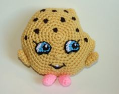 Shopkins Crochet Pattern - Kooky cookie crochet pattern - Edit Listing - Etsy