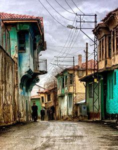 Odunpazari evleri - odunpazari, Eskisehir, Turkey.