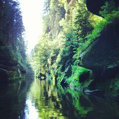 Nationalpark Böhmische Schweiz Edmundsklamm