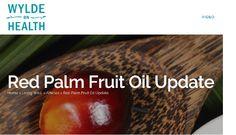 Miksi punaista palmuöljyä
