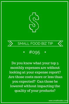 Understanding your expenses is key for entrepreneurs
