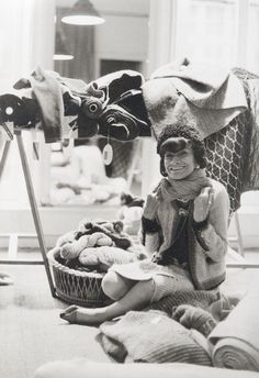 1960 - Coco Chanel in the atelier