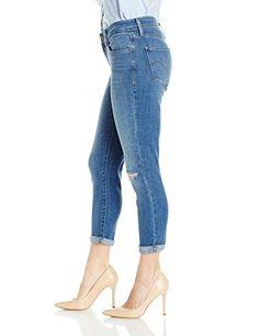 Levis Womens Mid Rise Skinny Crop Jeans  #jeans #pants #fashion #womensjeans #levis