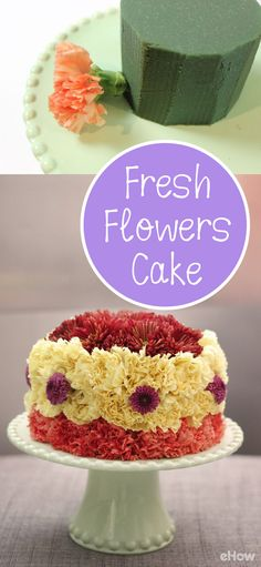 For your next party, here's a cake that is calorie-free, fat-free and gluten-free. It's a non-edible floral cake! This floral cake is perfect for birthdays, anniversaries, holidays, baby and bridal showers, housewarmings, office parties and practically any occasion. http://www.ehow.com/how_12343541_diy-cake-made-fresh-flowers-beautiful-party-decor.html?utm_source=pinterest.com&utm_medium=referral&utm_content=freestyle&utm_campaign=fanpage