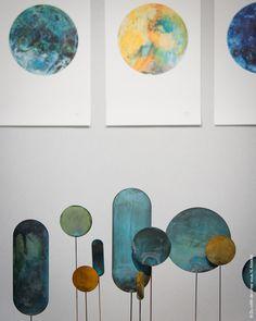 Salon Maison & Objet 2016, Talent à la carte, Kneip, design, sculpture, crcles, bleu