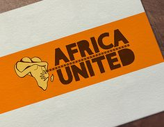 """Check out new work on my @Behance portfolio: """"Africa United - Logo Design"""" http://be.net/gallery/52685989/Africa-United-Logo-Design"""