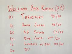 Had a thyroid lobectomy on 3/7 and haven't stepped in the garage since. This will be my welcome back workout. Enjoy! From the Garage.